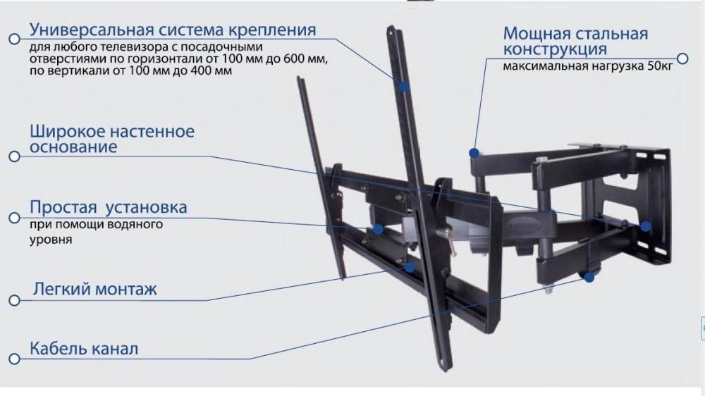 Кронштейн iTECHmount LCD-421 (до 25кг)